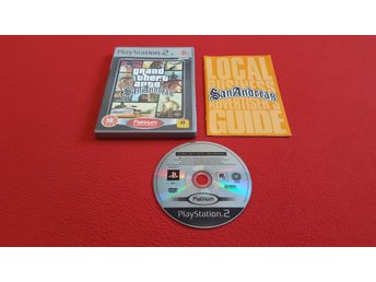 GTA GRAND THEFT AUTO SAN ANDREAS till Sony Playstation 2 PS2