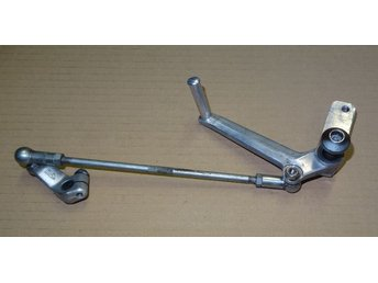 Aprilia RS 125 2001 växelspak med länkarm / gear change lever with linkage 99-05