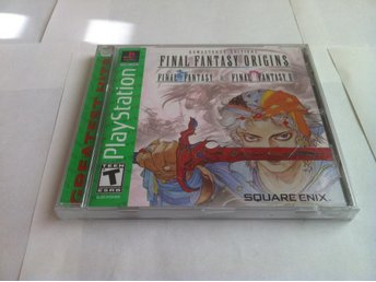 PS1: Final Fantasy Origins (FF1&2) Komplett Inplastad (NTSC)