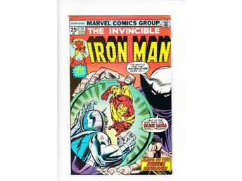 Iron Man nr 75 (1975) / VF/NM / toppskick
