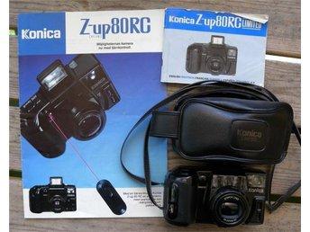 Konica Z-up 80 RG Limited med väska. - Stallarholmen - Konica Z-up 80 RG Limited med väska. - Stallarholmen