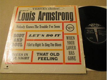 "Louis Armstrong ""The Best Of"""