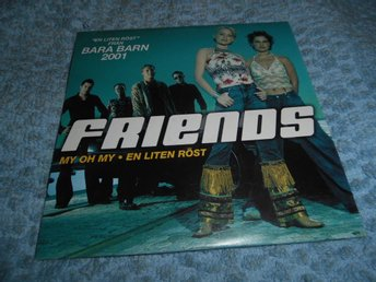 Friends - My Oh My (cd-singel) nyskick!!