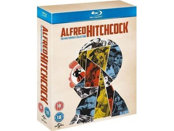 Alfred Hitchcock - Perfect Masterpiece Collection! 14 BLURAY DISC 14 Filmer