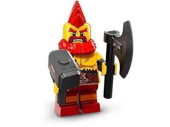 LEGO Minifigur Serie 17, Battle Dwarf, 71018 - åkersberga - LEGO Minifigur Serie 17, Battle Dwarf, 71018 - åkersberga