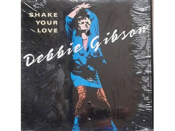 "Debbie Gibson title* Shake Your Love* Club, Latin, Freestyle 12"" US"