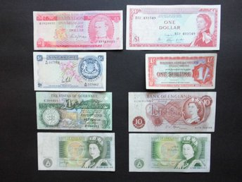 Pounds, Dollar Och Shillings