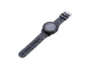 Garmin Fenix 5 silicone watchband strap - Flower Pattern