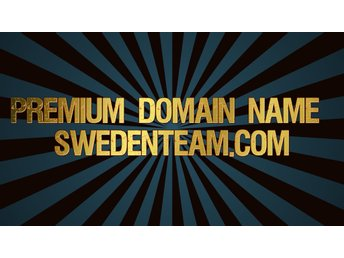 Premium Domain Name Swedenteam.com
