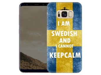 Samsung Galaxy S8 Plus Skal Keep Calm Swedish
