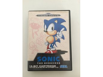 Sonic the Hedgehog 1 - SEGA Mega drive KOMPLETT