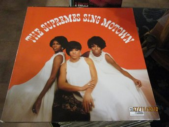 THE SUPREMES SING MOTOWN - LP