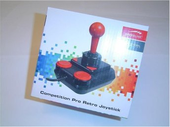 COMPETITION PRO JOYSTICK COMMODORE 64 C64 AMIGA ATARI MSX *NYTT*