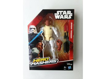 Star Wars Admiral Akbar Episode 7 HERO MASHERS Force Awakens Stjärnornas Krig