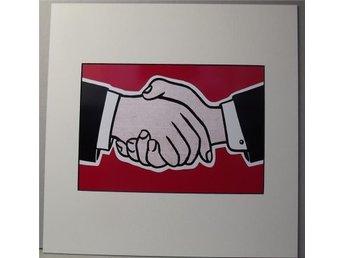 Roy Lichtentein – Handshake - Huddinge - Roy Lichtentein – Handshake - Huddinge
