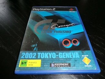 GT Gran Turismo Concept   PS2/ Playstation 2