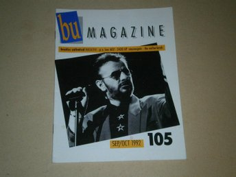 Beatles Unlimited #105 (September / Oktober 1992) - Fint Skick!