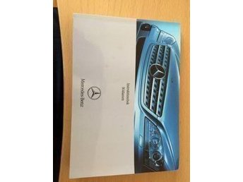 Mercedes Ml Instruktionsbok 164