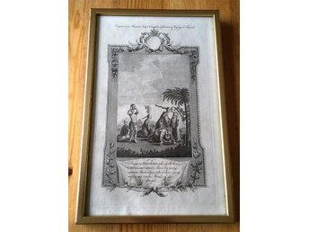 Engraving A New and Complete Collection of Voyages and Travels by John Hamilton