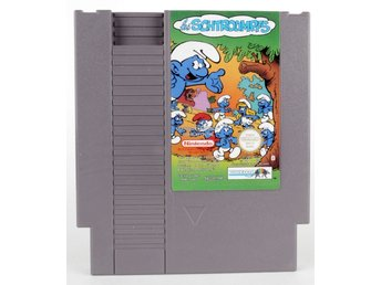 The Smurfs - Nintendo NES - PAL (EU)