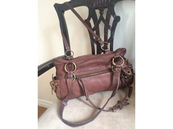 Leather womens handbag