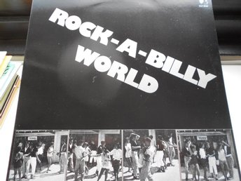 RECORD-SALE SOMMAR-REA! LP ROCK-A-BILLY-WORLD