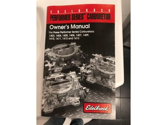 Edelbrock manual