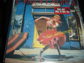"""Lp Cyndi Lauper - She´s So Unusual"