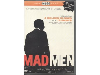 Mad Men: Säsong 4. 4 DVD.