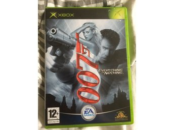 007 Everything or Nothing - Xbox - Svensk text och manual