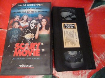 SCARY MOVIE, VHS, RYSARAKOMEDI, FILM, 85 MIN.
