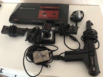 Sega Master System med Light Phaser