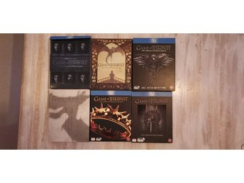Game of Thrones säsong 1-6, Bluray