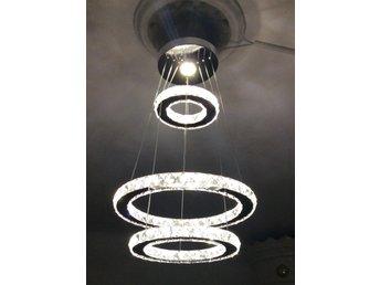 Nya Taklampa kristall LED belysning 3 ringar (355011289) ᐈ Köp på Tradera XT-07