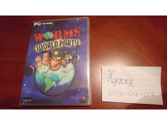 Worms World Party -PC CD-ROM- från 2001
