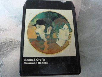 SEALS & CROFTS, SUMMER BREEZE,  KASSETTBAND, 8-TRACK