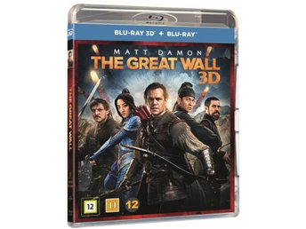 The Great Wall 3D + Blu-ray - Ny & Inplastad!