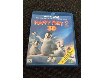 Happy Feet 2 - 3D - Bluray 3D - Svensk text