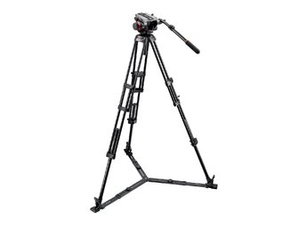 MANFROTTO Stativkit Video 504HD,546GBK Med Väska