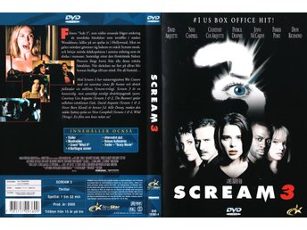 Scream 3 2000 DVD