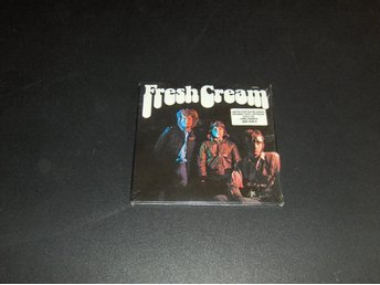 "Cream ""Fresh Cream""  Limiterad Gold CD"