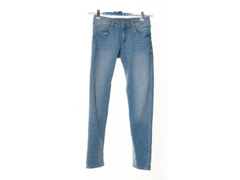 Denim By Lindex, Jeans, Strl: 158, Blå