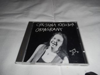 Christina Kjellsson - Ordagrant (CD) EX/VG+