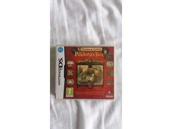 NINTENDO DS - PROFESSOR LAYTON AND PANDORAS BOX