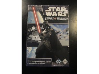 STAR WARS EMPIRE VS REBELLION - HELT NYTT & INPLASTAT SPEL PÅ SVENSKA