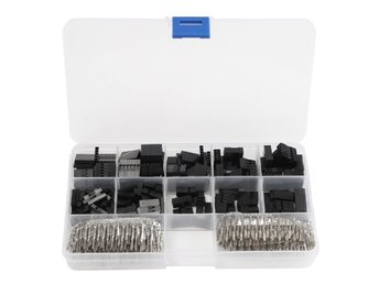 Geekcreit 610Pcs Wire Jumper Pin Header Connectors Housin...