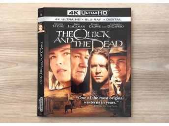 The Quick and the Dead 4K slipcover (BARA SLIPCOVER)