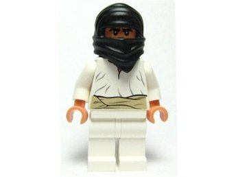 Lego - Figurer - Indiana Jones  - Cairo Thug Man