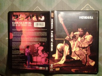 BAND OF GYPSYS LIVE AT FILLMORE EAST + INTERVIEWS AND MORE JIMI HENDRIX 1969/70