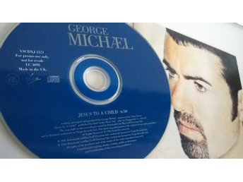 George Michael - Jesus to a child, single CD, promo